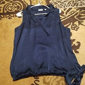 New york and co top teal size L